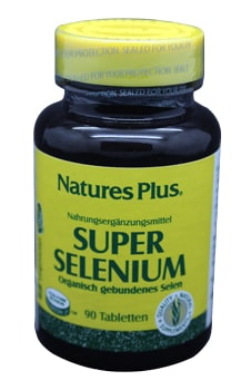Natures Super Selen 200mcg Tabletten 90 Stk.
