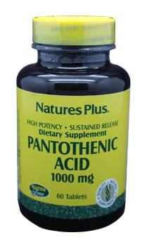 Natures Vitamin B5 (Pantothenic acid) 1000mg Tabletten 60 Stk.