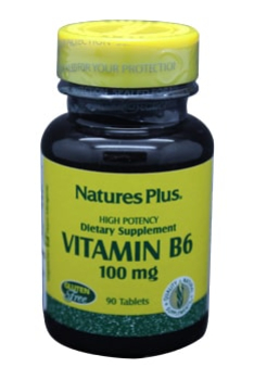 Natures Vitamin B6 (Pyridoxin) 100mg Tabletten 90 Stk.