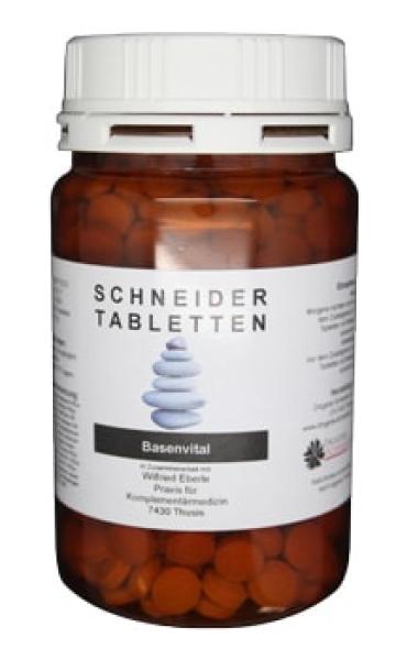 shop drogerie schneider basenvital basische tabletten. Black Bedroom Furniture Sets. Home Design Ideas